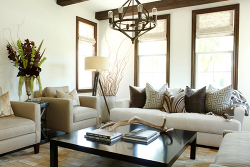 Decorating with a restricted color palette create your perfect living space
